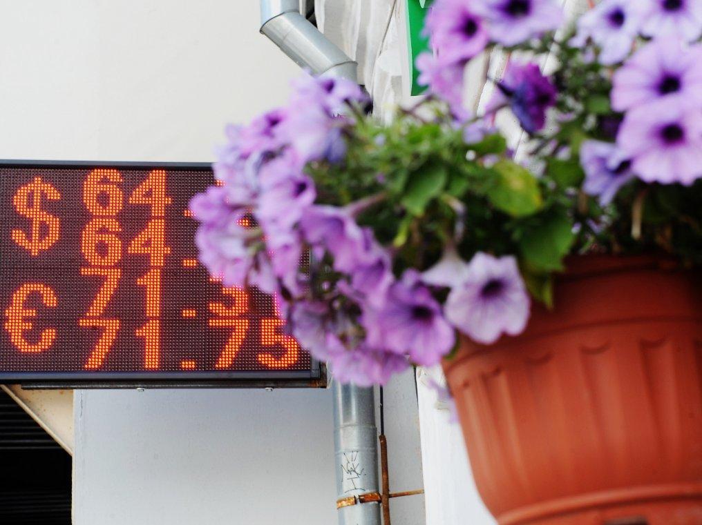 Минэкономразвития намерено держать курс доллара науровне 65 руб. до 2019г