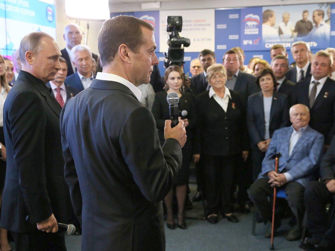 Путин призвал сохранить распределение мест вкомитетах Государственной думы
