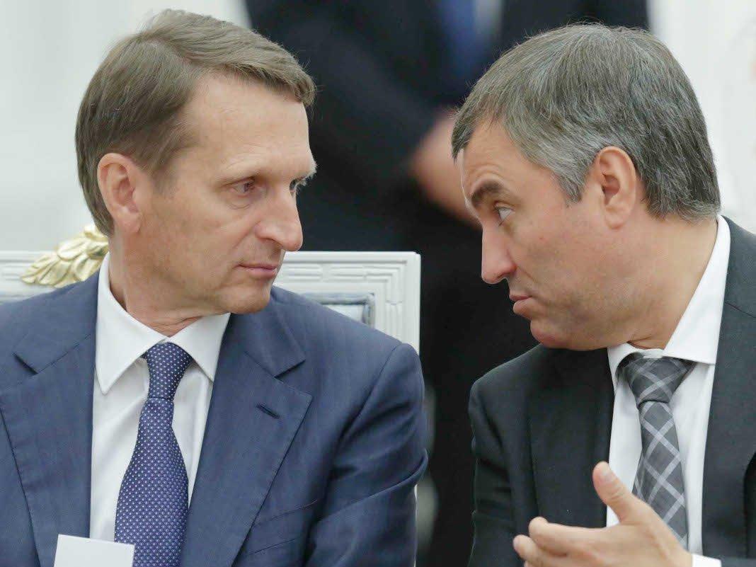 Алексей Навальный несможет участвовать ввыборах президента— Вячеслав Володин