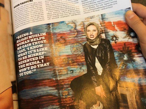 Мусульманка вхиджабе снялась для Playboy