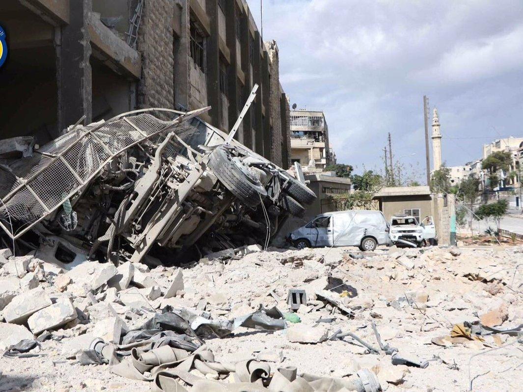 ООН обвинила власти Сирии веще одном применении химоружия