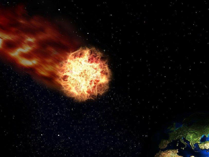 Астрофизики: 56 млн лет назад вЗемлю врезалась комета