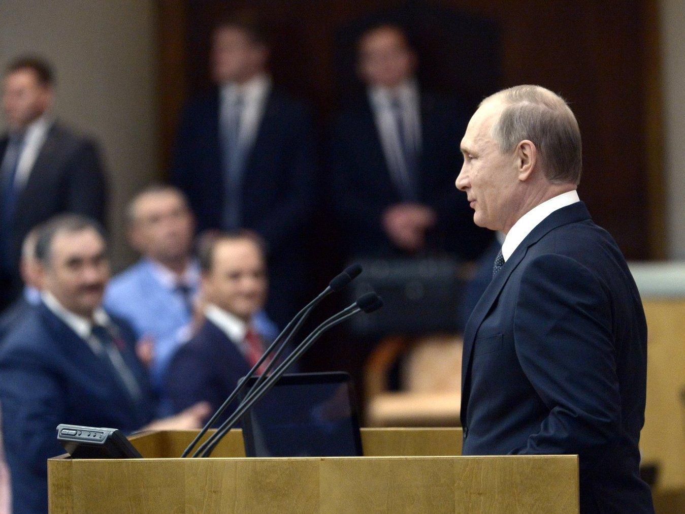 Путин внес в Государственную думу проект осовершенствовании судебной системы
