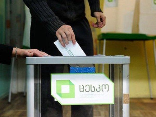 Выборы в Грузии 2016 год