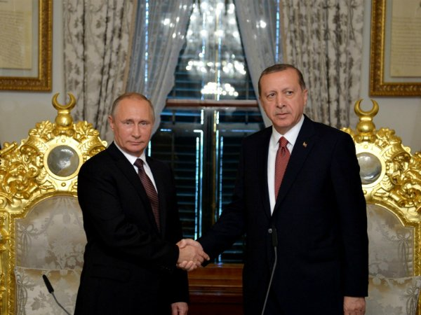 Названа повестка встречи Владимира Путина иЭрдогана