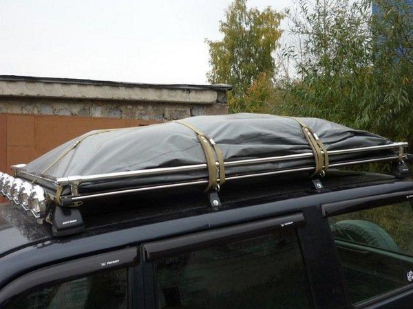 Багажник на крышу автомобиля из полипропилена