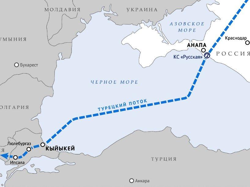 Комитет Государственной думы поэнергетике поддержал ратификацию соглашения по«Турецкому потоку»
