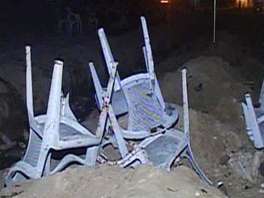 ВАбхазии уздания телевидения подорвался неизвестный мужчина сбородой