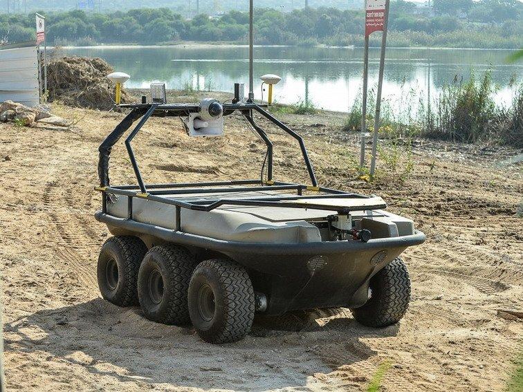 В РФ разработали морского робота для охраны границ