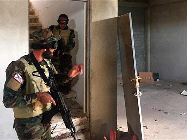 Иракский спецназ пошел внаступление набоевиков ИГИЛ— Битва заМосул