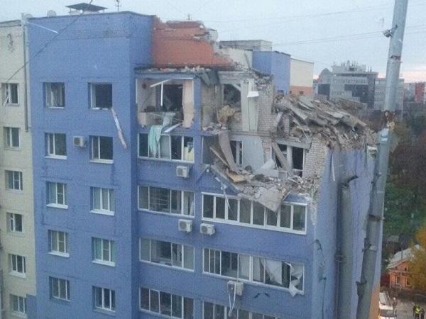 Взрыв в Рязани