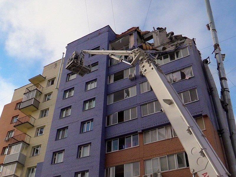 СК: Дом вРязани взорвался повине жильца