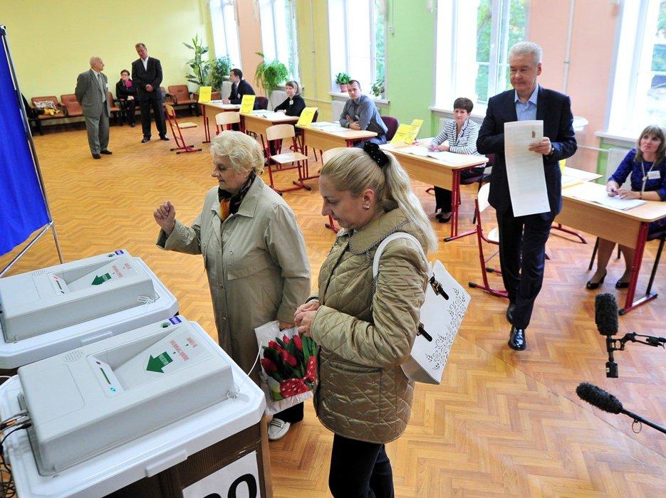 Собянин продлил голосование навыборах главы города до22 часов