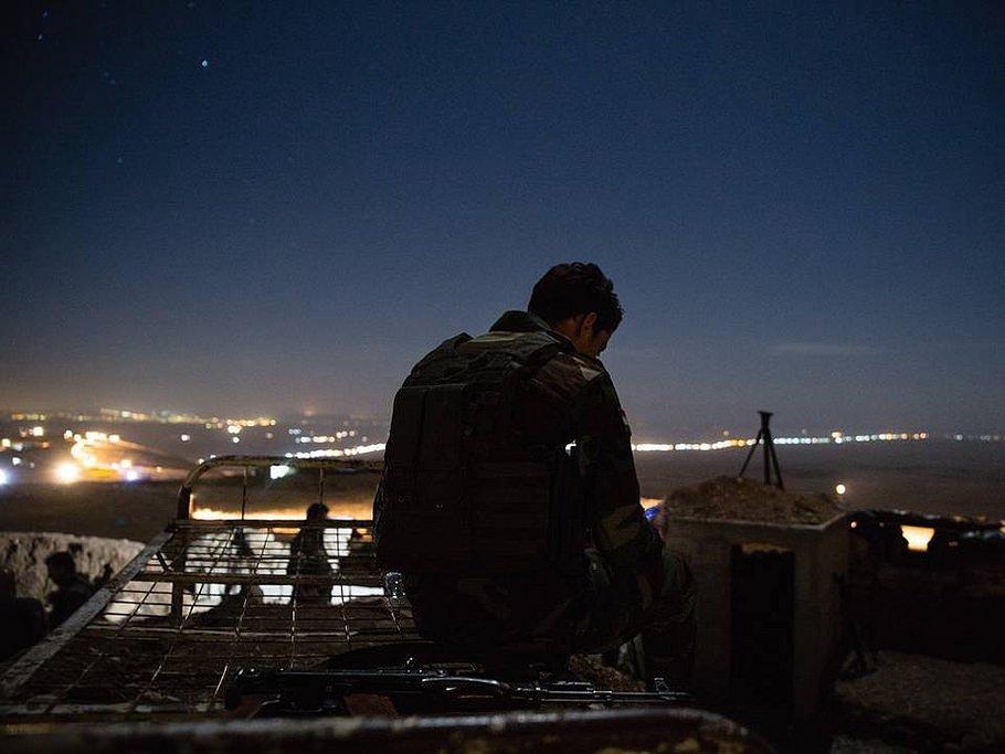 Жители России задержаны вовремя операции противИГ вМосуле