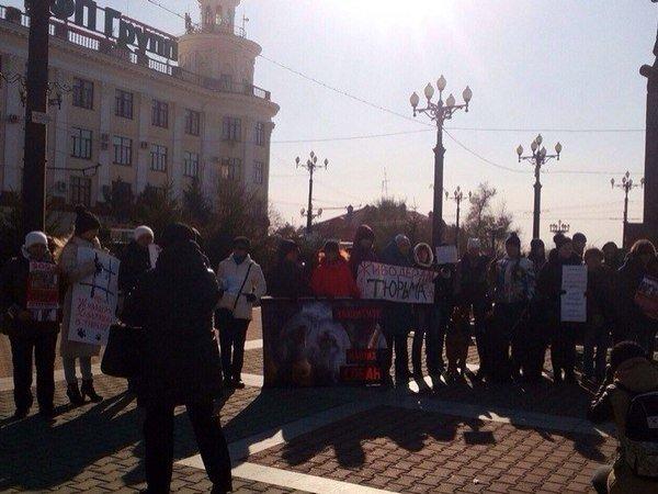 «Россия без жестокости»: в российской столице требуют сурово наказать живодерок