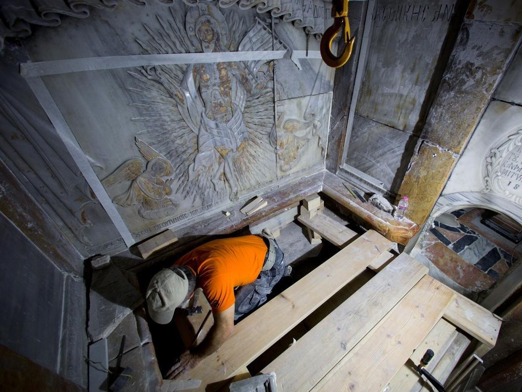 Ученые: гробница Христа вИерусалиме сохранилась впервозданном виде