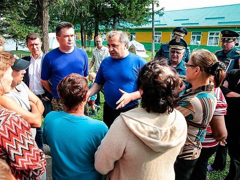 Жителям пострадавших районов Приморья начали оплачивать компенсации изфедерального бюджета