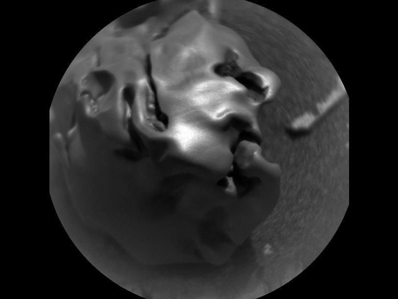 Марсианский метеорит Egg Rock