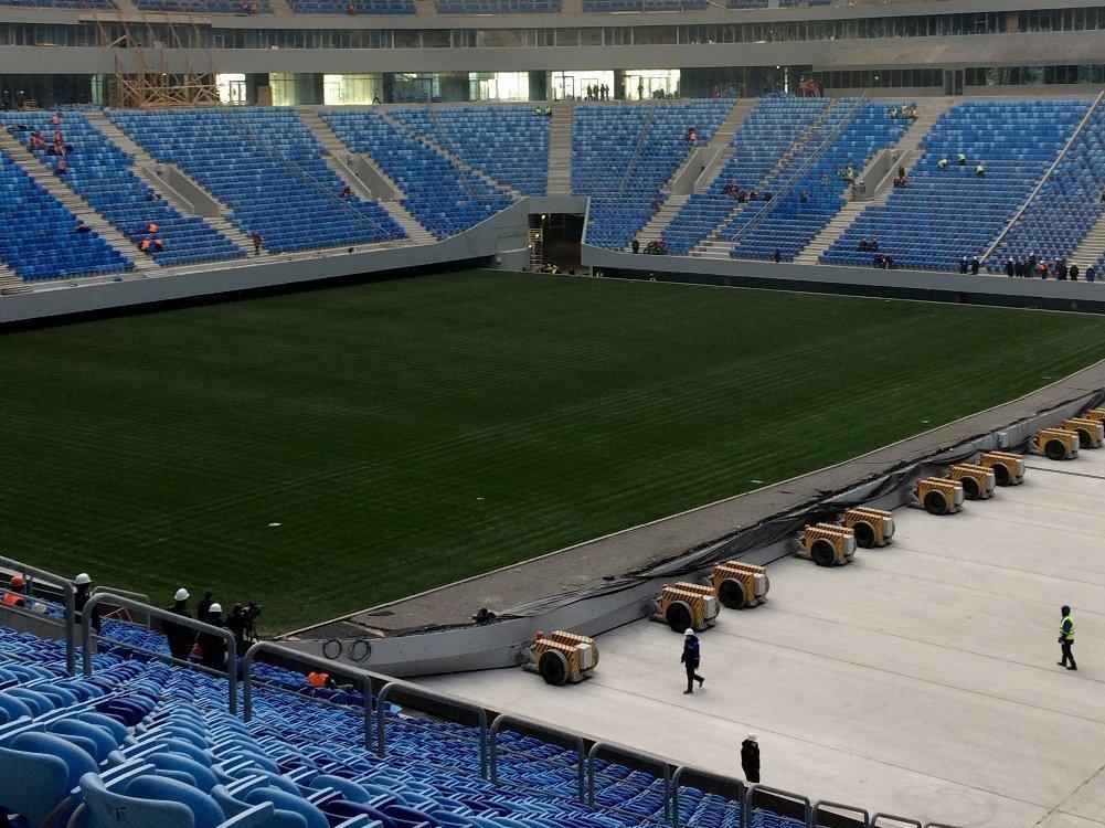 Стадион наКрестовском ввели вэксплуатацию