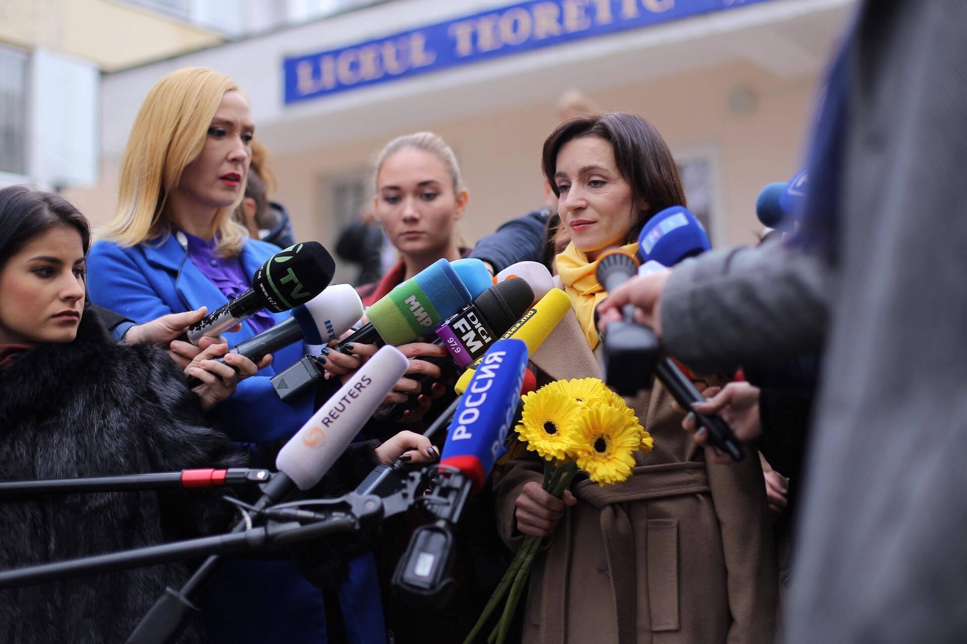 ВКремле почтительно отнеслись кпобеде пророссийского президента вМолдавии