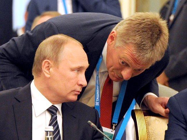 Песков: Путин необсуждал сТрампом вопрос Крыма