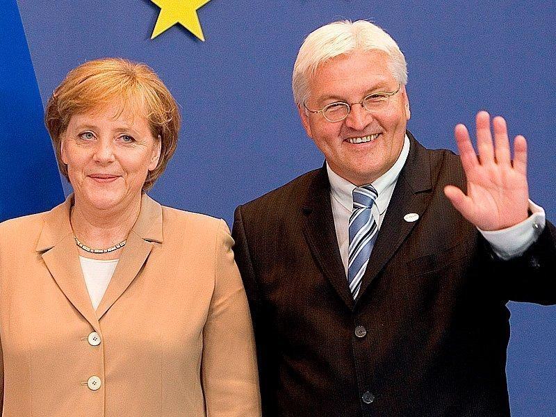 Штайнмайер официально представлен вкачестве кандидата впрезиденты ФРГ