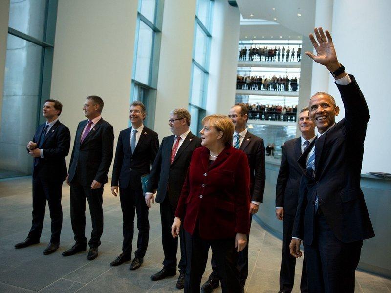 Обама илидеры европейского союза согласовали свои действия поантироссийским санкциям