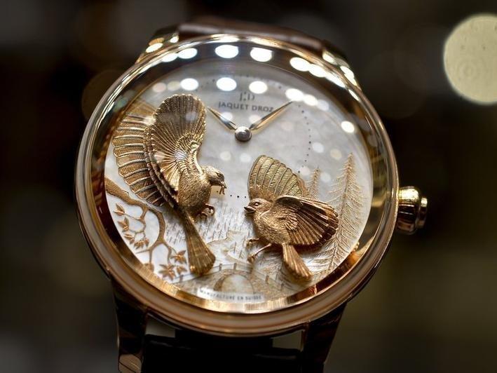 Швейцарские часы вмире стали реже покупать
