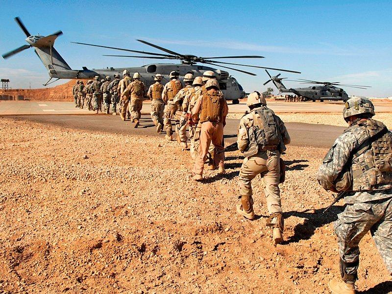 США планируют сделать новые военные базы вИраке иКувейте