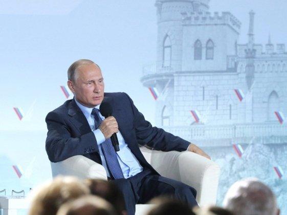 Путин примет участие в пленуме ОНФ