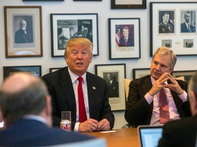 Трамп сказал, что онсделает, как только вступит вдолжность президента США