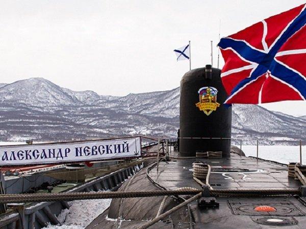 АПЛ «Александр Невский» вернулась изпохода набазу вВилючинск
