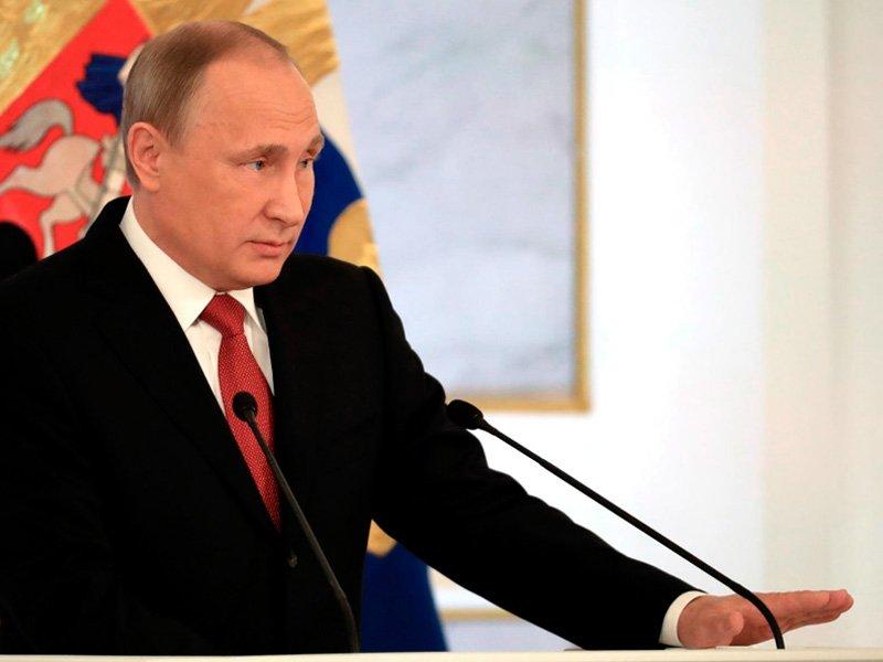 Песков уточнил информацию одате послания В.Путина кФедеральному Собранию