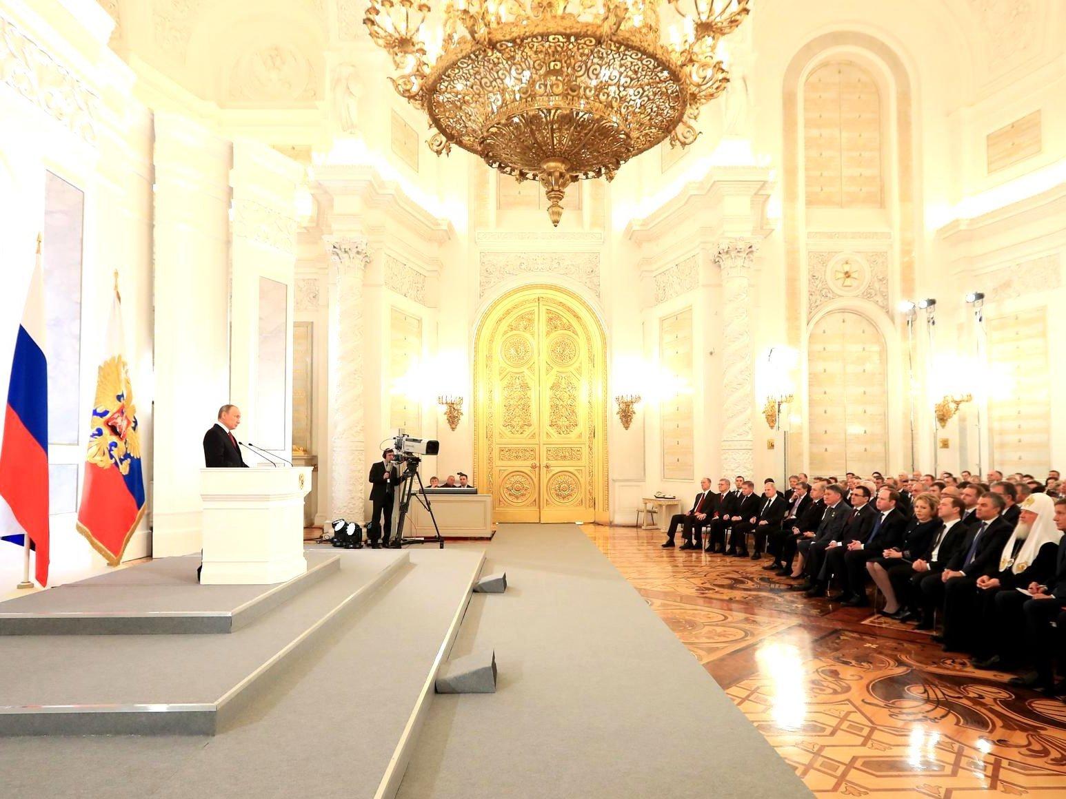 Письмо В. Путина Федеральному Собранию отложили наконец февраля