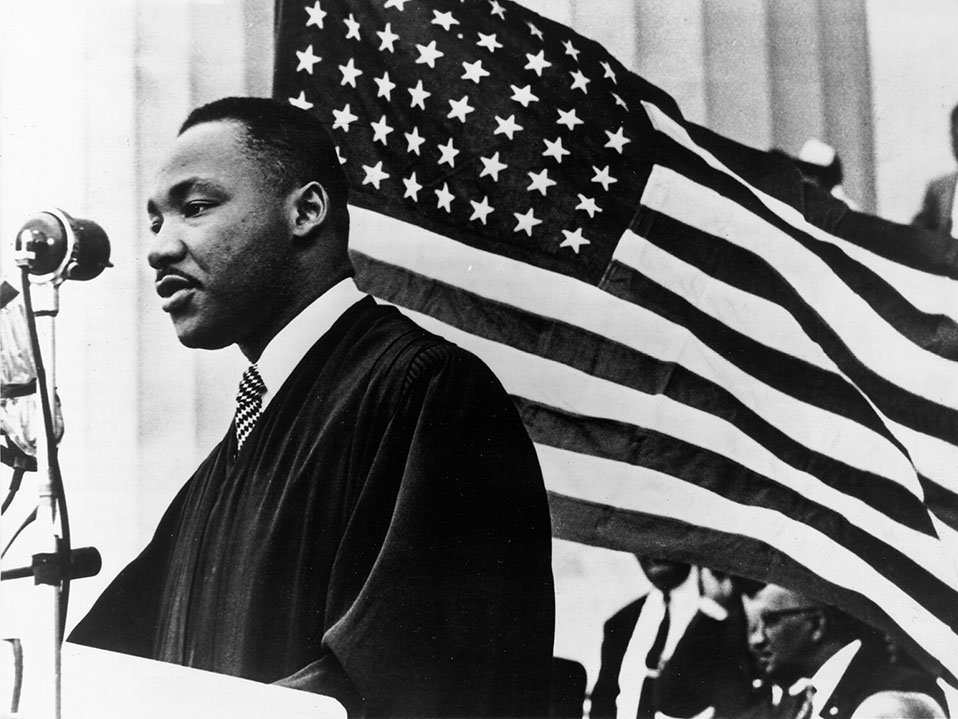 Мартин Лютер Кинг былбы огорчен произволом милиции кафроамериканцам— Путин