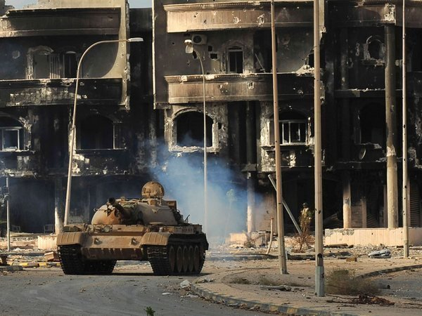 В Ливии поймали 8 боевиков, пытавшихся скрыться вплавь