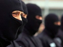 Бойцы спецназа ФСБ.
