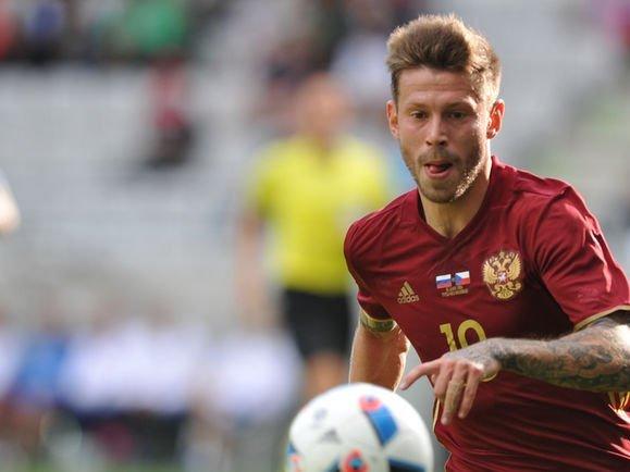 Нападающий «Краснодара» Федор Смолов признан лучшим футболистом 2016 года