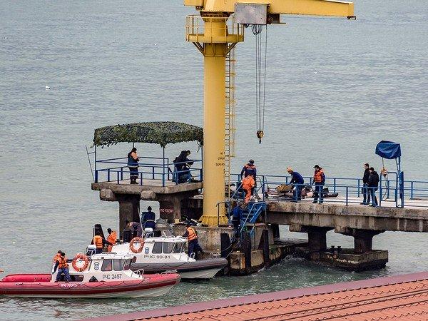Минтранс сказал обобнаружении вЧерном море фрагментов тел