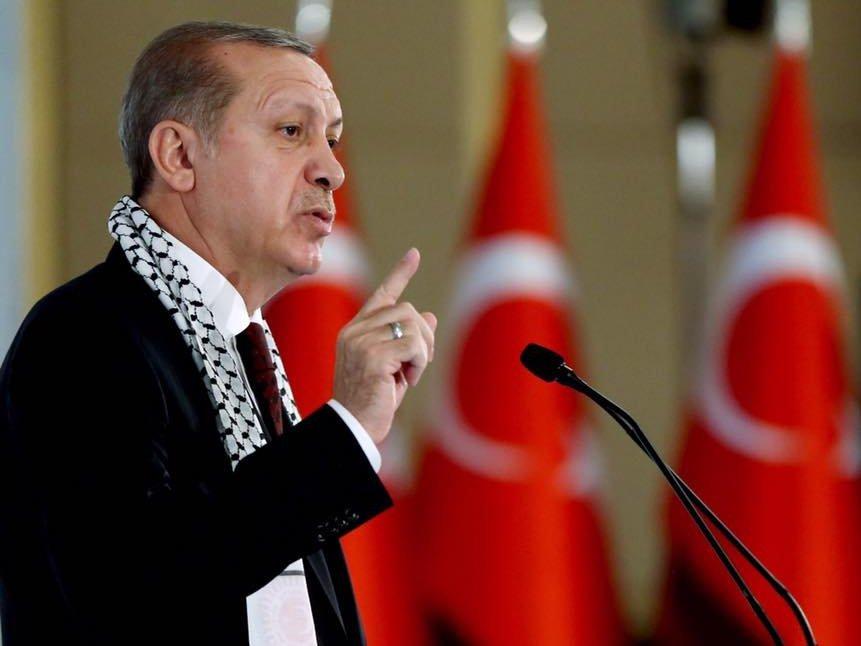 Эрдоган назвал Израиль государством-террористом