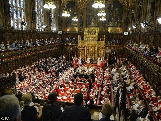 Впалате лордов вБритании сегодня обсудят законодательный проект оBrexit