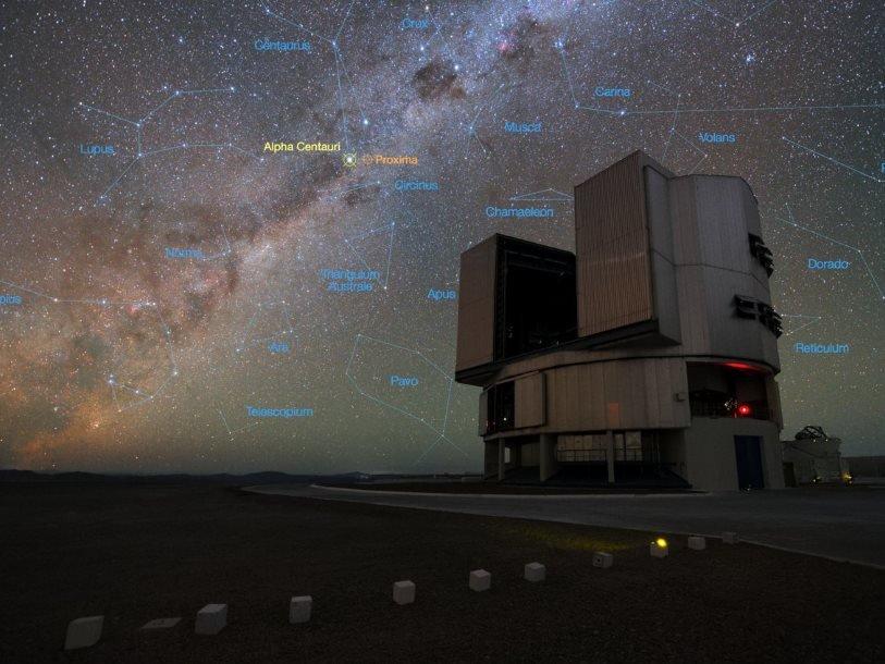 Внеземную жизнь близ Альфы Центавра попробует отыскать Очень большой телескоп