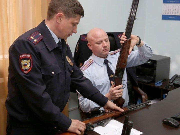 Росгвардия не разоружает россиян