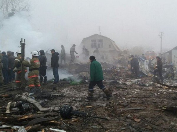 Под Бишкеком найден 2-ой самописец грузового «Боинга»