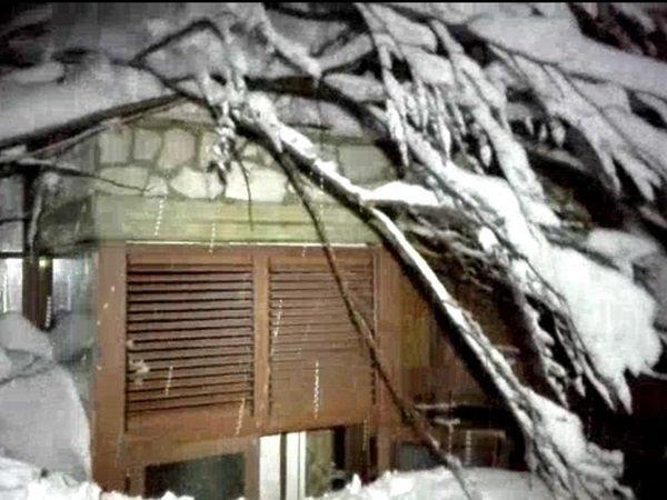 Отель Rigopiano di Farindola на который обрушилась лавина