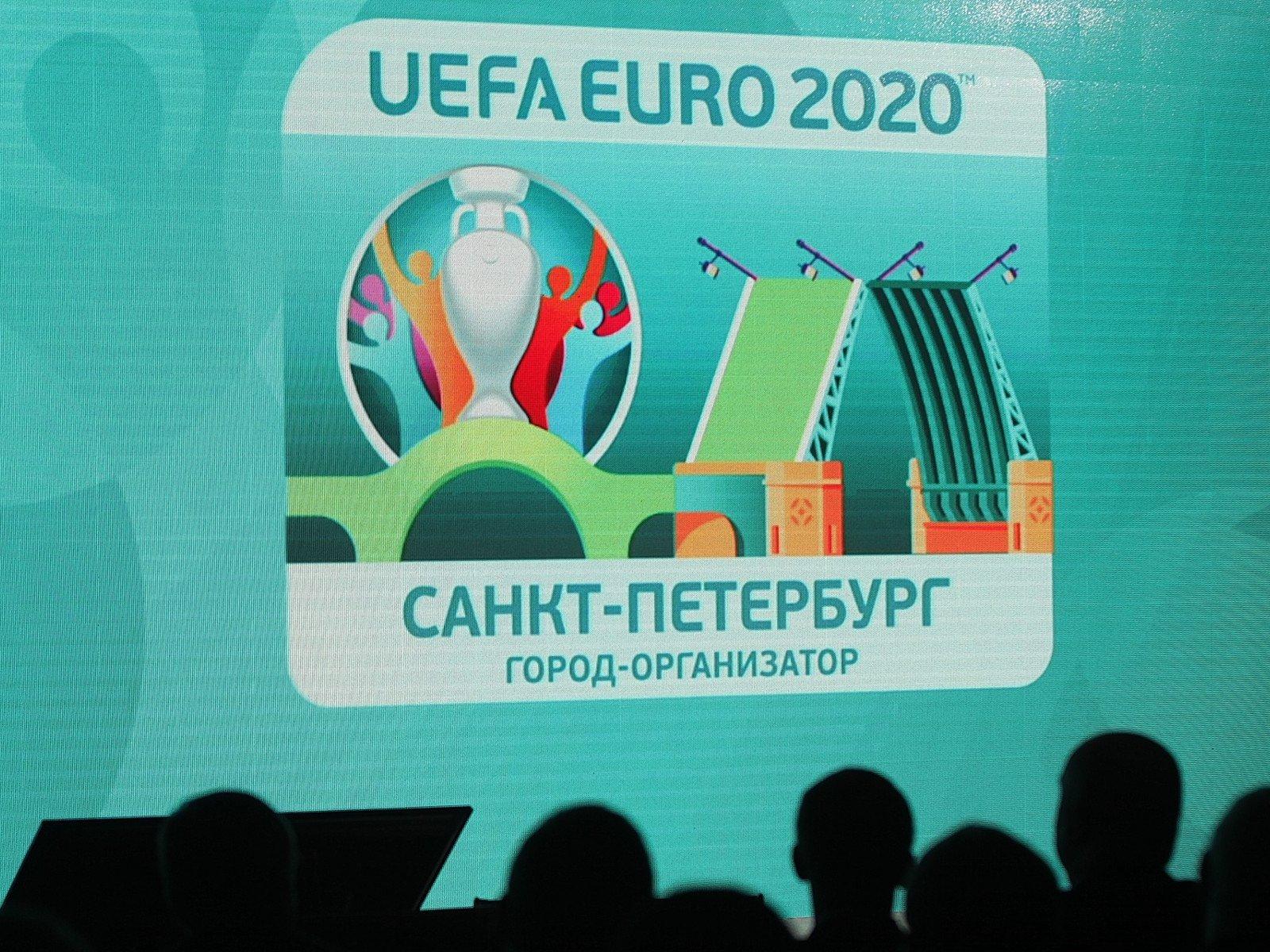 ВПетербурге презентовали знак петербургского этапа Евро