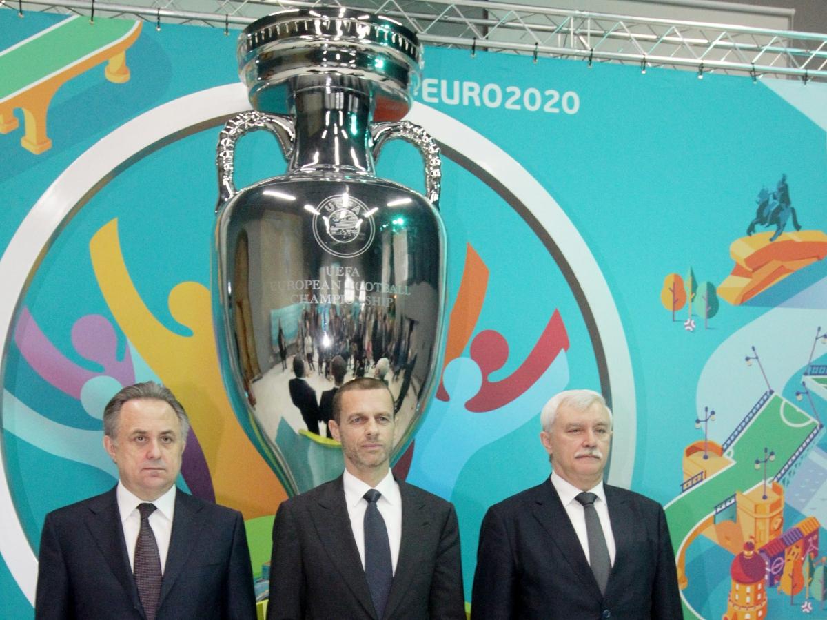 В Петербурге представили эмблему города-организатора Евро-2020