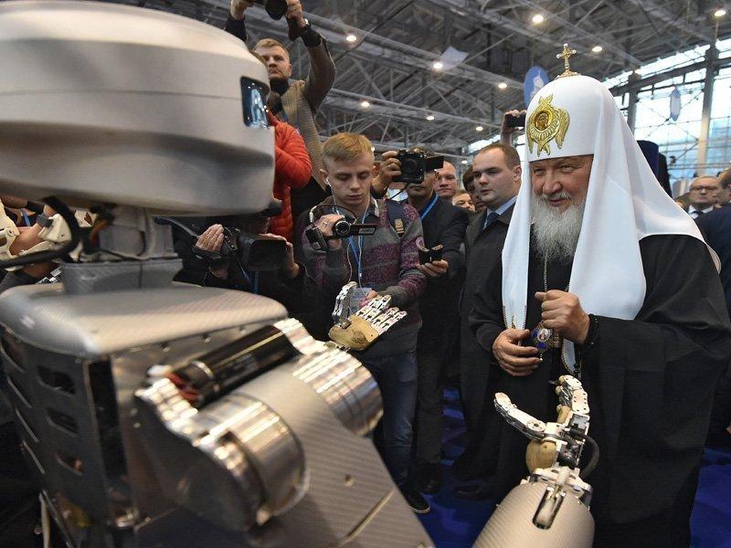 РПЦ обиделась наTelegram из-за разрушительных изображений спатриархом Кириллом