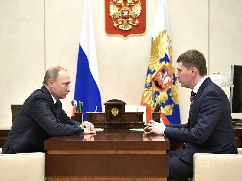 Врио руководителя Пермского края Максим Решетников назвал свое назначение двойной ответственностью