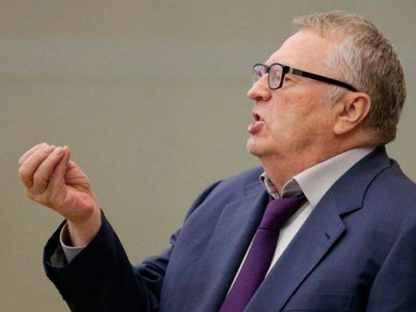 В.Жириновский в Госдуме.